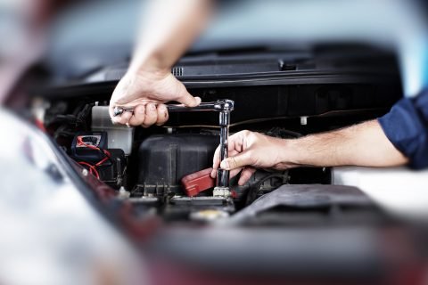 fixing under the hood